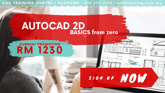 AutoCAD 2D Basics from zero 2-day short course with CIDB points . CADTRAINING.COM.MY