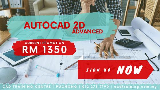AutoCAD 2D Advanced 2-day short course with CIDB points . CADTRAINING.COM.MY