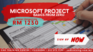 Microsoft Project Basics from zero | MS Project | 2-day short course with CIDB points . CADTRAINING.COM.MY