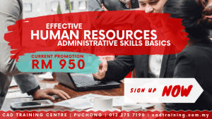 Human Resource Administrative Skills Basics | 2-day short course with CIDB points . CADTRAINING.COM.MY