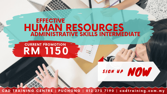 Human Resources Admin Skills Intermediate 2-day short course with CIDB points . CADTRAINING.COM.MY